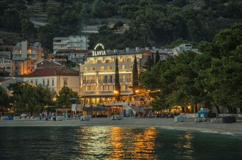 Baska Voda 4 csillagos hotel eladó