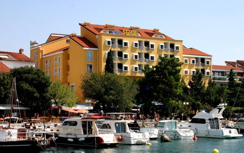 3 csillagos szálloda Crikvenica mellett