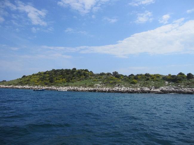 Eladó kis horvát sziget – Kluda